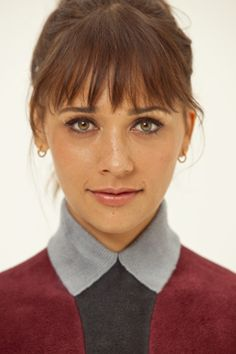 2013 = new hair cut! loving Rashida's bangs
