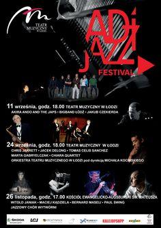 Adi Jazz Festiwal jest to przedsięwzięcie kulturalne zakładające jedność sztuk…
