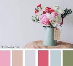 Combinaciones en colores....