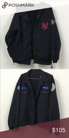 3 JACKETS!! Used. Oldskool. Vintage. Size L-XL. no trade. 1 Yankees without tag and 1 Janpanese jacket and 1 has Korean on. I bought it from a vintage 2hand shop when i was in Los Angeles but i'm too small, not fit me well Nike Jackets & Coats