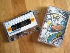 DIY mix tape/usb drive. made one of these for a valentine's gift. turned out really well. :D