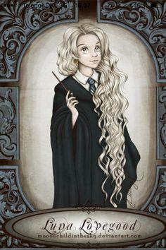 Luna lovegood art