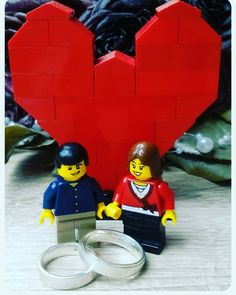 Today it is exactly one year ago that I was allowed to marry the most wonderful woman . I wish us many more happy years together. Have a nice first anniversary sweetheart @_mrs.sandrielle_love . I love you.  #lego #legophotography #legolife #legostagram #instalego #legogram #weddinganniversary #love #heart #legofan #minifigs #minifigure #legominifigures #brickcentral #bricknetwork #bricks #brickstagram #brickphotography #brickfan #blokpod #afol by chris_lego_brick