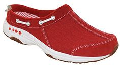 Easy Spirit Women's Travelport Mule Red Style 60301467, 6.5W - Easy spirit mules and clogs for women (*Amazon Partner-Link)
