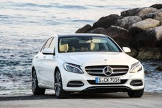 You have the choice! Do you want the #MercedesBenz star on the hood or in the front grill? Photo by Jens Stratmann - #Mercedes C-Class [C-Class (as available at sales launch) | Fuel consumption (combined): 5.3-4.0 l/100km | CO2 emission (combined): 123-103 g/km | http://mb4.me/EfficiencyStatement]