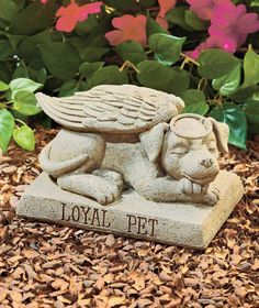 Solar Pet Memorial Garden Statues Memorial Stuff Pinterest