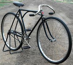 1920's Iver Johnson Truss Bridge Track Road Racer Bicycle Wood Wheel Prewar Bike | eBay