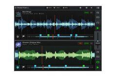 Traktor DJ iPad App by Native Instruments