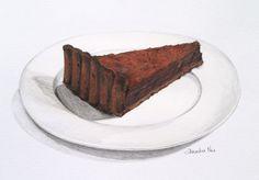 ✿Cake & Chocolate✿ Decedent Chocolate Tart