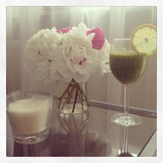 dariapogo's photo on Instagram Good morning :) #greensmoothie #healthymeal #myfave