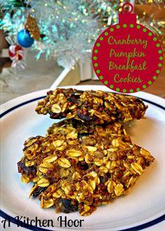 A Kitchen Hoor's Adventures: #CartonSmart Cranberry Pumpkin Breakfast Cookies