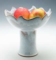 Love this so much! Cloudy White 'Wave' Centerpiece by adventuresinclay on Etsy, $80.00