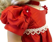 Valentina SILK Regency Gown for American Girl by DollhouseDesigns