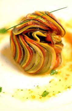 Ratatouille from Ratatouille.I never tried this, but I will soon!