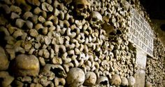 Exploring the World' Catacombs.