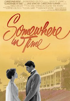 Jane Seymour, Christopher Reeve -  'Somewhere in Time'.
