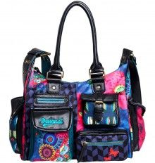 Shop 43 top Desigual Fashion for Women from retailers such as Gilt, Rue La La and Yoox all in one place. Also set Sale Alerts and shop Exclusive Offers only on ShopStyle Australia. London Bags, Popular Bags, Mini, Diaper Bag, Handbags, Purses, Womens Fashion, Leather, Accessories
