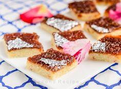 Gulkand barfi,gulkand,nariyal,coconut barfi,traditional sweets,burfi,condensed milk,sweet,mithai,