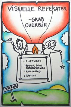 Tegnet visitkort - ivara.dk