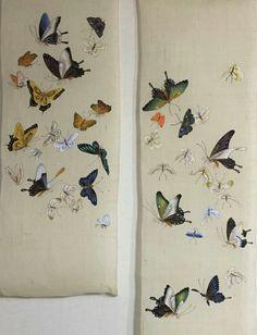 3번째 이미지 Dress Painting, Ink Painting, Fabric Painting, Butterfly Painting, Butterfly Art, Korean Art, Asian Art, Chinese Painting, Chinese Art