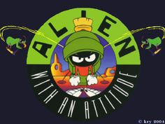 looney tunes marvin the martian | Marvin The Martian Wallpaper : Wallpaper_Looney_Tunes_Marvin_Martian ...