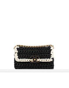 Chanel - 2014 Crochet flap bag - CHANEL