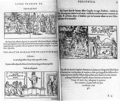 jacques kerver | ... . Le Songe de Poliphile . Paris: Jacques Kerver, 1546. f. 56v-57r