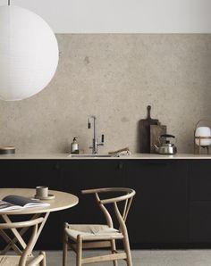 Scandinavian minimalist kitchen by Pella Hedeby for Bricmate