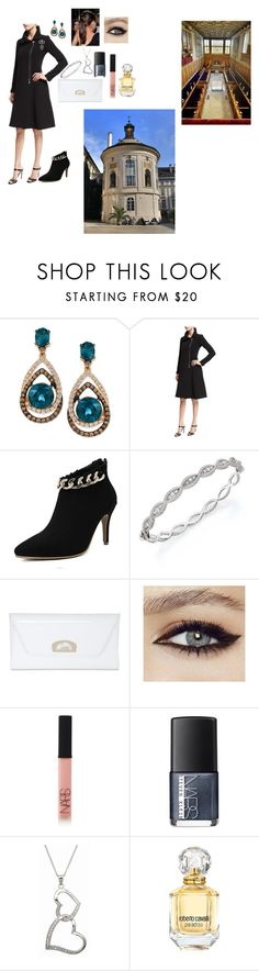 """Untitled #210"" by shadow2014 ❤ liked on Polyvore featuring LE VIAN, Armani Collezioni, Roberto Coin, Christian Louboutin, NARS Cosmetics, Fantasy Jewelry Box and Roberto Cavalli"