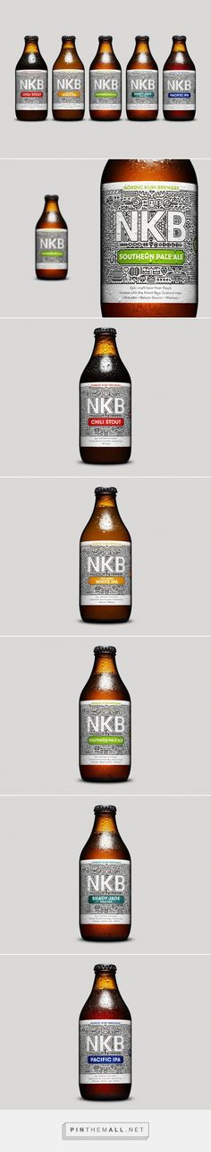 Nordic Kiwi Brewers Beer Packaging of the World - Creative Package Design Gallery - http://www.packagingoftheworld.com/2015/09/nordic-kiwi-brewers.html