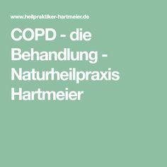 COPD - die Behandlung - Naturheilpraxis Hartmeier