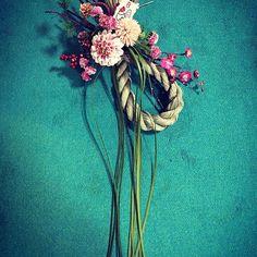 #お正月飾り #花の教室 #flowerdesign #花のある暮らし #artdevivre #kyoto #FLEURSdeKYOTO