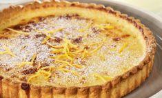 Τάρτα lemon pie (λέμον πάι). Μια υπέροχη εκδοχή αυτού του κλασικού αμερικάνικου γλυκίσματος χωρίς μαρέγκα, με τραγανή βάση, αφράτη, μυρωδάτη κρέμα με κρεμ