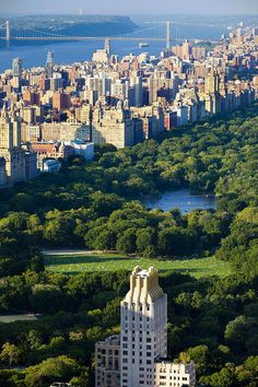 NYC's Central Park, looking northwest