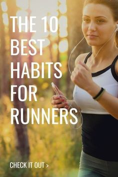 There are many habits that are important for runners. Learn about the 10 most important of them in this article! Running Humor, Running Motivation, Running Workouts, Walking Workouts, Running Plan, Running Tips, Trail Running, Running Shoes, Runners World