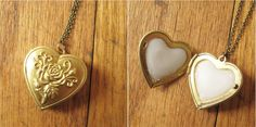 Perfume Filled Locket - How Did You Make This? | Luxe DIY