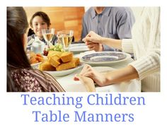 So fun to guest post and share unique ways to teach children table manners at Many Little Blessings. (April 25, 2012)