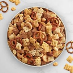 Gluten-Free Original Chex™ Party Mix Chex Mix Recipes, Dog Food Recipes, Snack Recipes, Candy Recipes, Yummy Recipes, Keto Recipes, Chex Party Mix Recipe, Homemade Chex Mix, Gluten Free Cereal