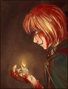 Armin Arlert by SolarButterfly. Attack on titan. 進撃の巨人. Shingeki no Kyojin. Атака титанов. #SNK. #AOT