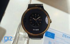 Mola: ZTE Axon Watch, un smartwatch que funciona con Tencent OS
