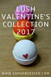 LUSH VALENTINE'S COLLECTION 2017
