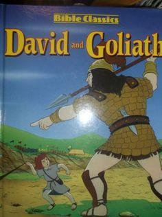 David-and-Goliath-Bible-Classics-Honey-Bear-Books-Pictorial-Hardback-0766606627