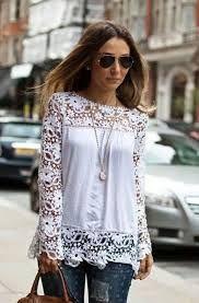 Картинки по запросу Модные блузки с вышивкой 2017 год