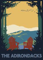 The Adirondacks... it's a chair, it's a place, it's a State of Mind. *love*