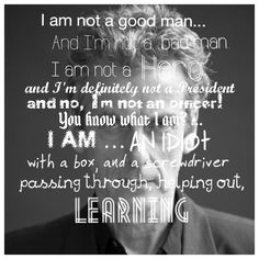 Doctor Who Peter Capaldi Quote 12th Doctor