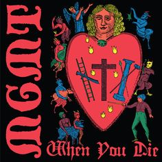 "MGMT returns with some bite on ""When You Die,"" the presumed second single from their forthcoming, highly-anticipated fourth studio album. Art Music, Music Artists, Rock Charts, Alternative Songs, Disney Princess Pictures, Indie Pop, Dark Ages, Disney Fan Art, Films"