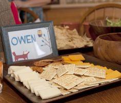 cheese & cracker tray