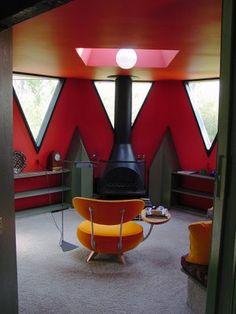 Bruce Goff Rec Room