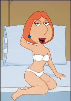Lois puts on her schoolgirl costume to tease Peter into having sex in this Family Guy porn video.