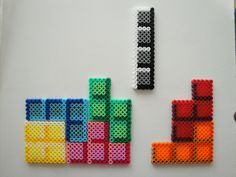 Tetris Hama Bead Sprite by ~rinoaff10 on deviantART